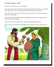 children's bible story book