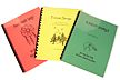 Set of 3 Song Books - for 5 Hole Flute