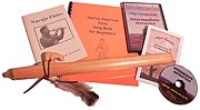 Authentic Native American Flute Starter Kit, Key of D 6 Hole