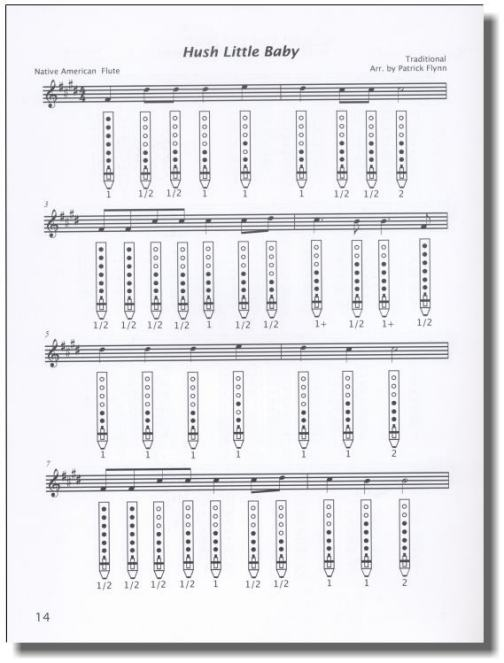 House of the rising sun native american flute sheet music